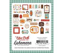 Echo Park Happy Fall Ephemera (HAP129024)