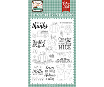Echo Park Give Thanks Clear Stamps (HAP219043)