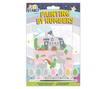 Docrafts Mini Paint By Numbers Kit Fairytale Castle (CPT 658702)
