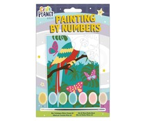 Docrafts Mini Paint By Numbers Kit Parrot (CPT 658707)