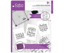 Crafter's Companion The Spirit of Christmas Clear Stamps (CC-CA-ST-TSOC)