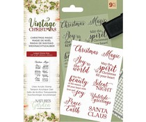 Crafter's Companion Vintage Christmas Christmas Magic Clear Stamps (NG-VIN-ST-CMAG)