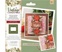 Crafter's Companion Vintage Christmas Festive Frame Cut & Emboss Folder (NG-VIN-CEF-FFRA)