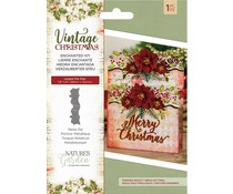 Crafter's Companion Vintage Christmas Enchanted Ivy Die (NG-VIN-MD-EIVY)