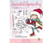 Crafter's Companion Annabel Spenceley Enjoy The Festivities Stamps (AS-STP-ENJIES)
