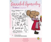 Crafter's Companion Annabel Spenceley Happy Holidays Stamps (AS-STP-HAPAYS)
