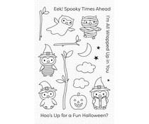 My Favorite Things Halloween Hoo Clear Stamps (CS-497)