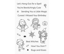 My Favorite Things Boo Crew Clear Stamps (CS-498)