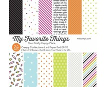My Favorite Things Creepy Confections 6x6 Inch Paper Pad (EP-70)
