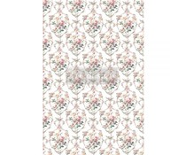 Re-Design with Prima Floral Court 24x35 Inch Decor Transfers (649920)
