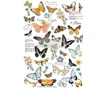 Re-Design with Prima Butterfly Dance 24x35 Inch Decor Transfers (647636)