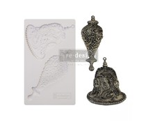 Re-Design with Prima Silver Bells 5x8 Inch Mould (646141)