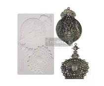 Re-Design with Prima Victorian Adornments 5x8 Inch Mould (646127)