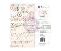 Prima Marketing Sugar Cookie Christmas 8x8 Inch Paper Pad (996444)