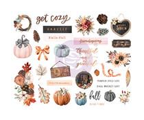 Prima Marketing Pumpkin & Spice Chipboards (647810)