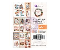 Prima Marketing Pumpkin & Spice 3x4 Inch Journaling Cards (647797)