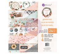 Prima Marketing Pumpkin & Spice 12x12 Inch Paper Pad (647766)