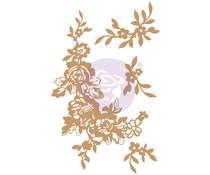 Prima Marketing Beautiful Fleur Chipboard Diecut (647377)