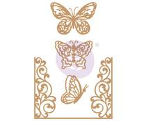 Prima Marketing Butterfly Flight Chipboard Diecut (647346)