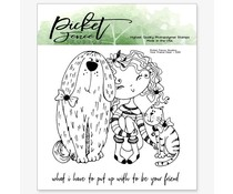 Picket Fence Studios Your Friend Dear Clear Stamps (D-101)