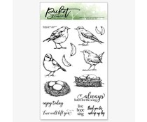 Picket Fence Studios Songbirds Clear Stamps (A-147)