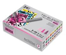 Spectrum Noir TriBlend Brush Complete Collection (24pcs) (SN-TBBR-COMP24)