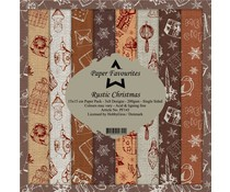 Paper Favourites Rustic Christmas 6x6 Inch Paper Pack (PF143)