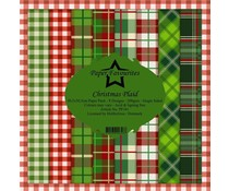 Paper Favourites Christmas Plaid 12x12 Inch Paper Pack (PF341)