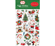 Carta Bella Dear Santa Puffy Stickers (CBDE125066)