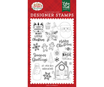 Echo Park Cookies and Milk Clear Stamps (GC221043)