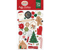 Echo Park A Gingerbread Christmas Puffy Stickers (GC221066)