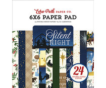 Echo Park Silent Night 6x6 Inch Paper Pad (SN222023)