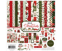 Carta Bella Hello Christmas 12x12 Inch Collection Kit (CBHC124016)