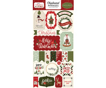 Carta Bella Hello Christmas 6x13 Inch Chipboard Phrases (CBHC124022)