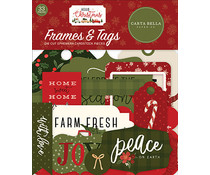 Carta Bella Hello Christmas Frames & Tags (CBHC124025)