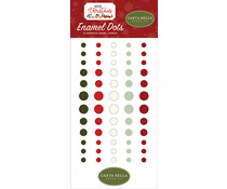 Carta Bella Hello Christmas Enamel Dots (CBHC124028)