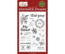 Carta Bella Christmas Greetings Clear Stamps (CBHC124045)