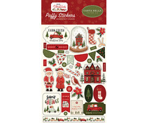Carta Bella Hello Christmas Puffy Stickers (CBHC124066)