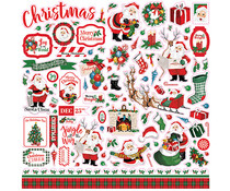 Carta Bella Dear Santa 12x12 Inch Element Sticker (CBDE125014)