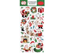 Carta Bella Dear Santa 6x13 Inch Chipboard Accents (CBDE125021)