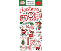 Carta Bella Dear Santa 6x13 Inch Chipboard Phrases (CBDE125022)