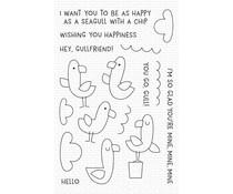 My Favorite Things Seaside Seagulls Clear Stamps (CS-499)