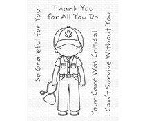 My Favorite Things Critical Care Clear Stamps (PI-308)