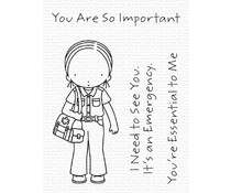My Favorite Things You're Essential Clear Stamps (PI-309)