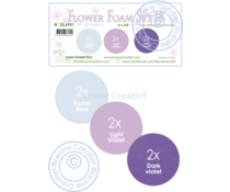 Leane Creatief Flower Foam A4 Set 18 Pastel 3 (25.6951)
