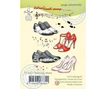 Leane Creatief Dancing Shoes Clear Stamps (55.6821)