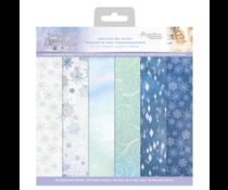 Crafter's Companion Glittering Snowflakes 12x12 Inch Vellum Pad (S-GS-VELPAD12)