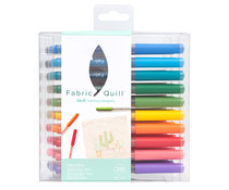 We R Memory Keepers Fabric Quill Fabric Pens (30pcs) (661173)