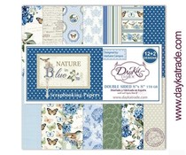 DayKa Trade Nature in Blue 8x8 Inch Paper Pack (SCP-1030)