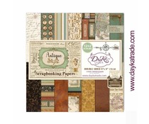DayKa Trade Antique Style 8x8 Inch Paper Pack (SCP-1031)